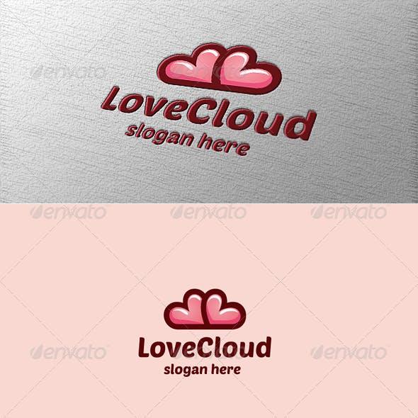 Heart Love Cloud