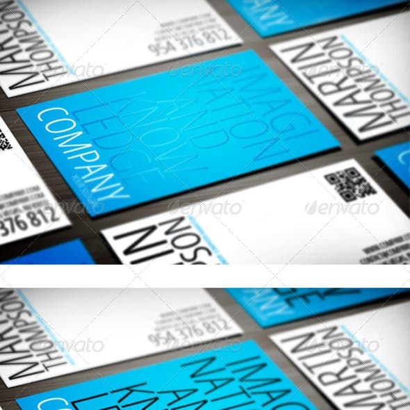 Creative Modern Business Card Template + UV