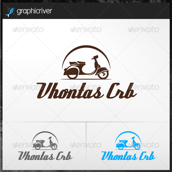 Scooter Logo Templates