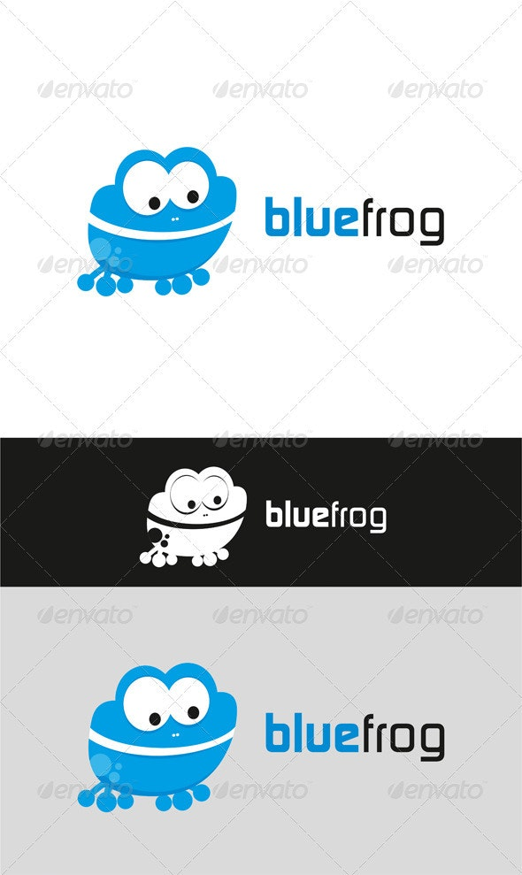 BlueFrog - Animals Logo Templates