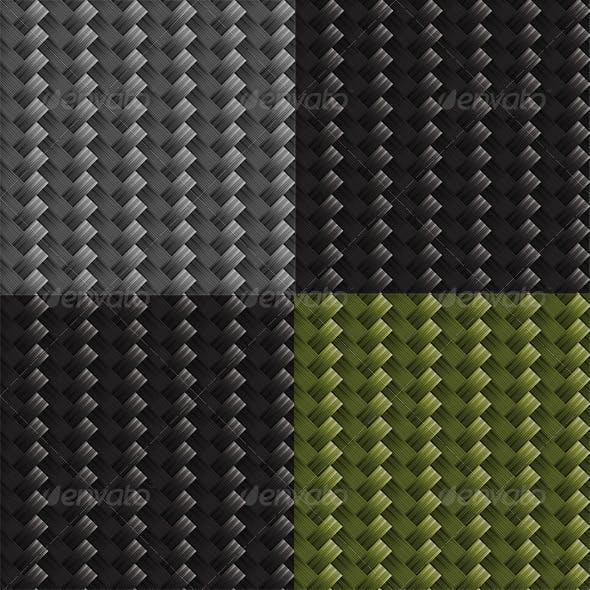 Diagonal Carbon Fabric Texture Set