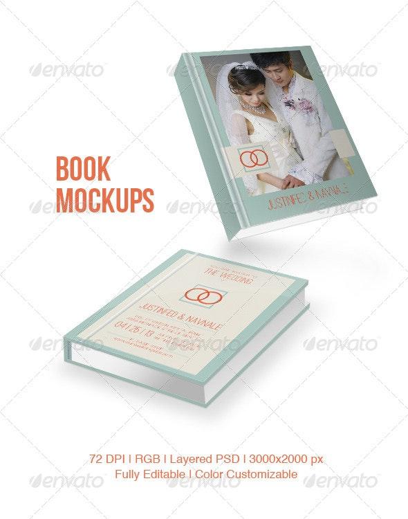 Book Mockups - Books Print