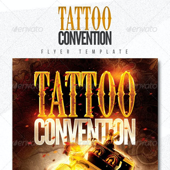Tattoo Convention Flyer Template