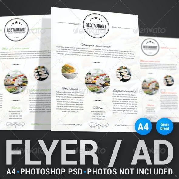 Food Flyer 2