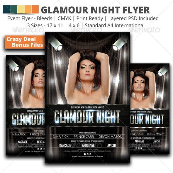 Glamour Night Flyer