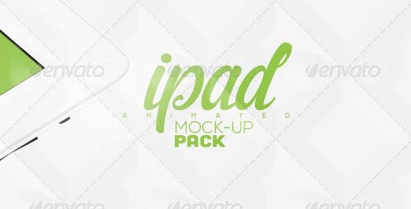 Animated Tablet Mock-up Pack - Mobile Displays