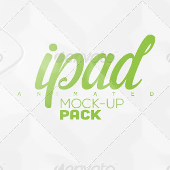 Animated Tablet Mock-up Pack