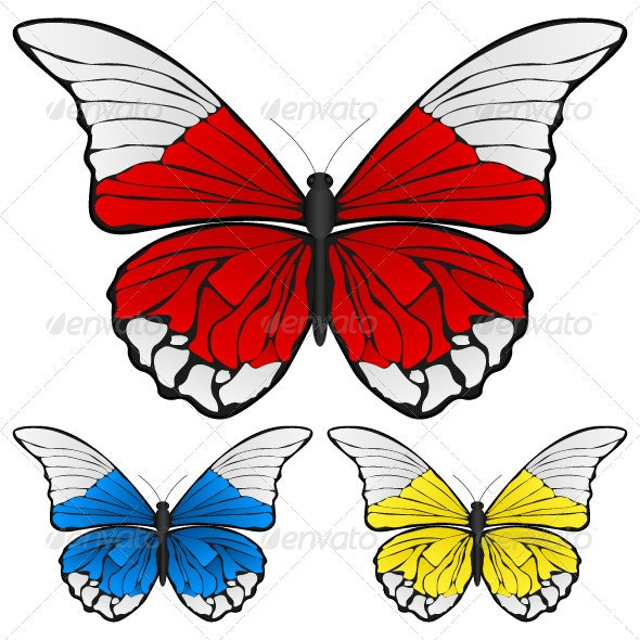 Butterfly  - Animals Characters