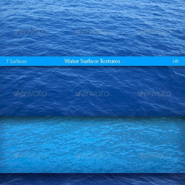 Water Surfaces Textures
