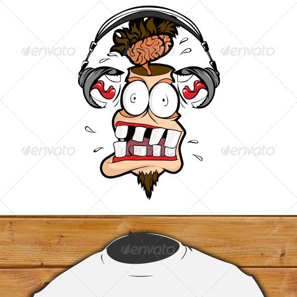 Person with Headphones