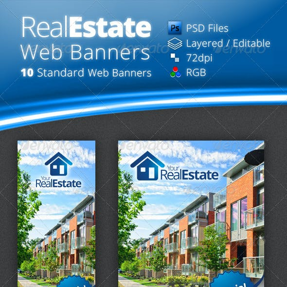 Real Estate Campaign Web Banners