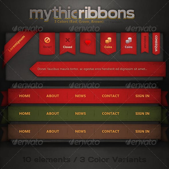 Mythic Ribbons