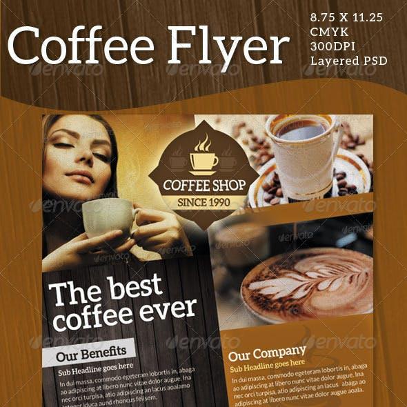 Coffee Flyers / Print ad
