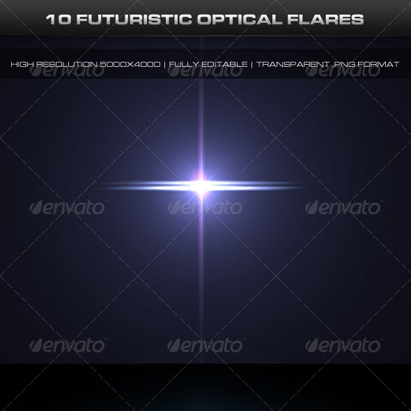 10 Futuristic Optical Flares