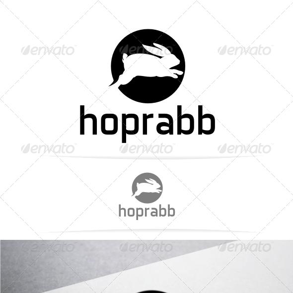 Hoprabb Logo Template