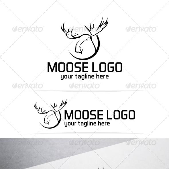 Moose Logo Template