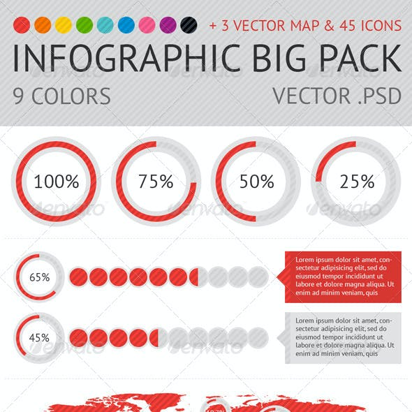 Infographic: Big pack 9 color