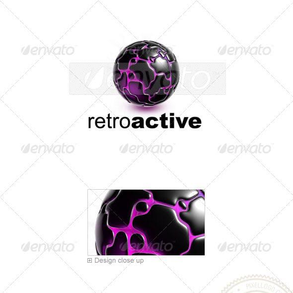 Globe Logo 3D-741