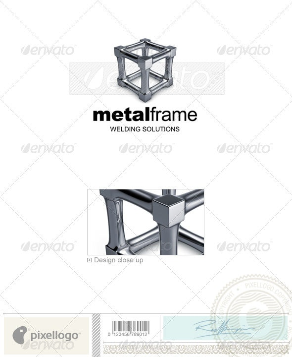 Industrial Logo 3D-732 - Objects Logo Templates