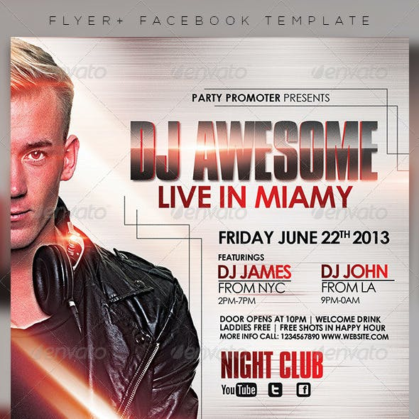 DJ Flyer Template