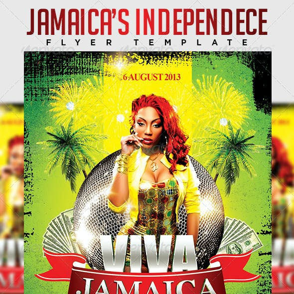 Viva Jamaica Flyer Template