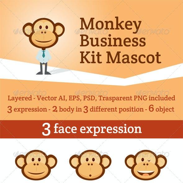 Monkey Business Kit Mascot