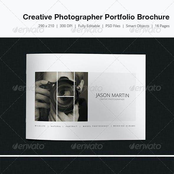 Creative Photographer Portfolio Brochure