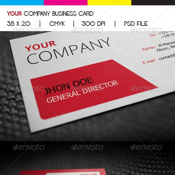 Your Company Business Card