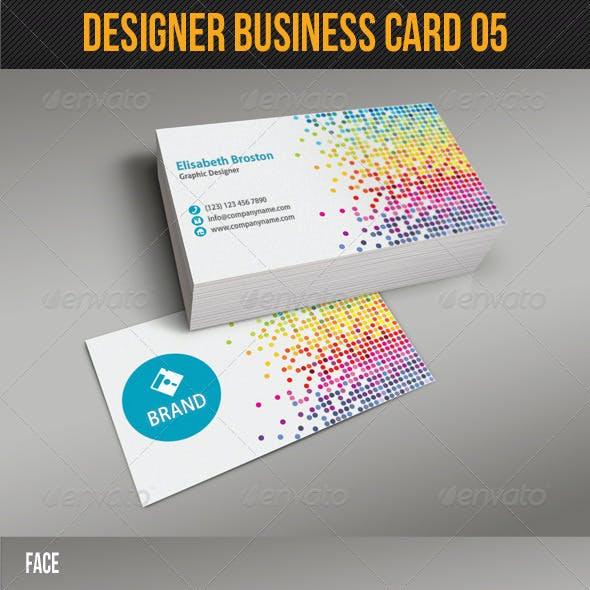Designer Business Card 05