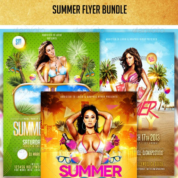 Summer Flyer Bundle