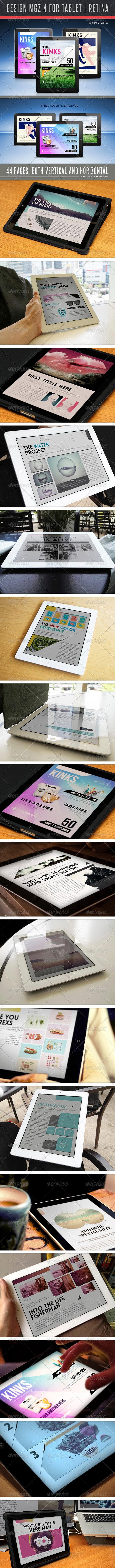 Design MGZ 4 For Tablet - Digital Magazines ePublishing