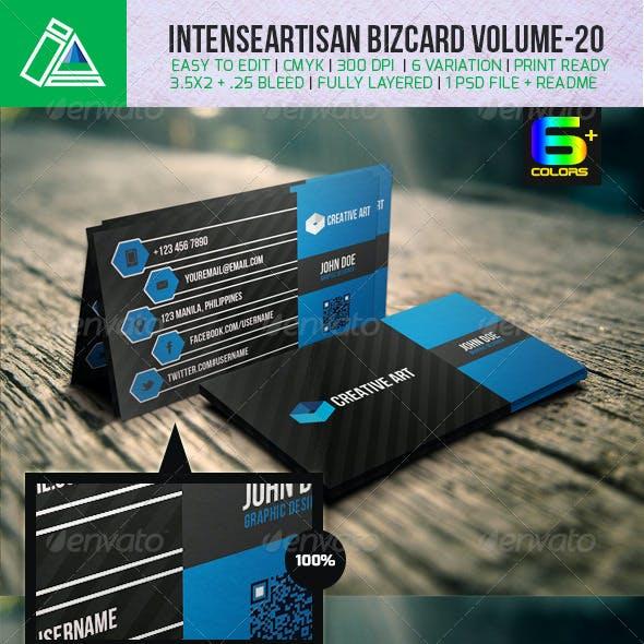 IntenseArtisan Creative Business Card Vol-20