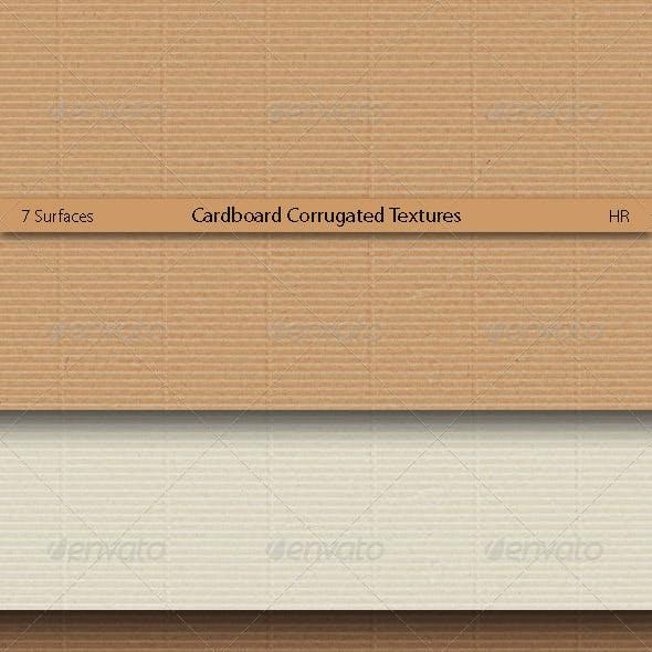 Cardboard Corrugated Textures