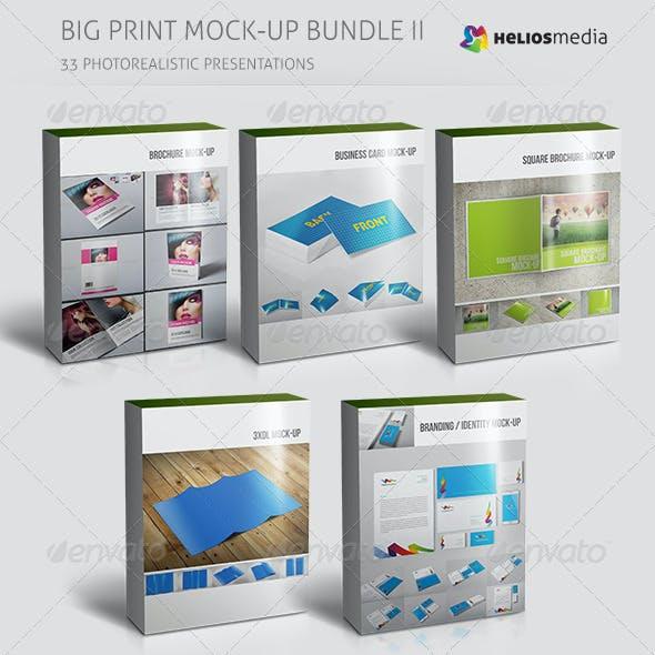Big Print Mock-up Bundle II