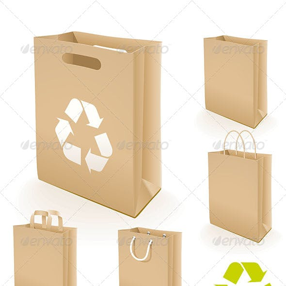 5 Recycling Paper Bags