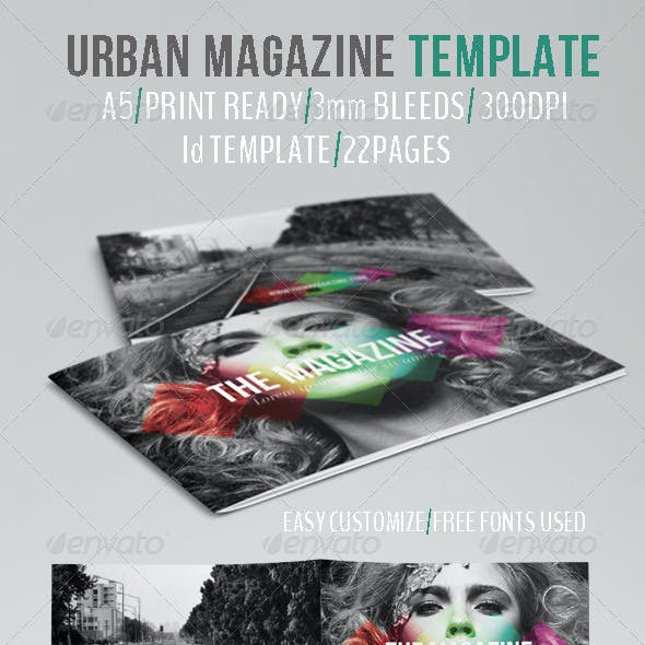 Urban Magazine Template