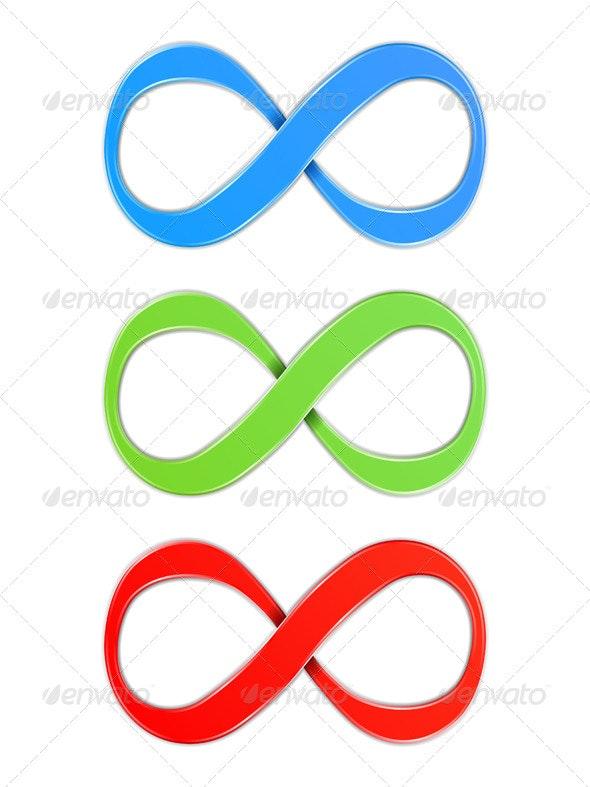 Infinity Symbols - Decorative Symbols Decorative