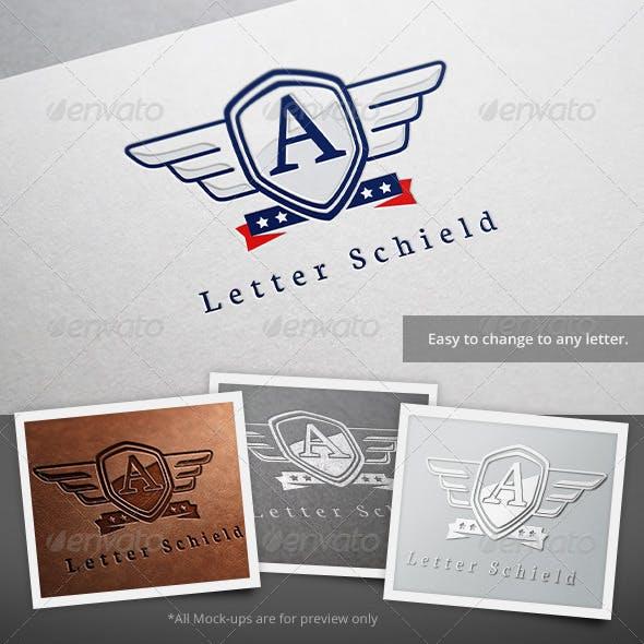 Letter Schield Logo