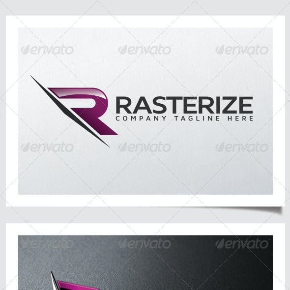 Rasterize Logo