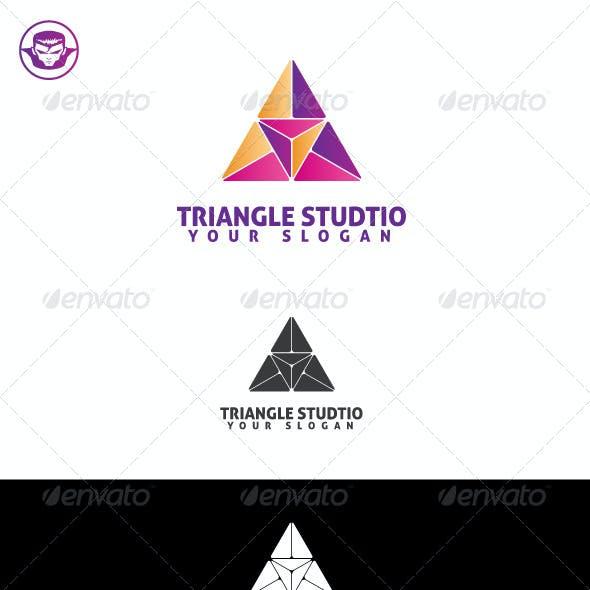 Download Triangle Studio Logo Template