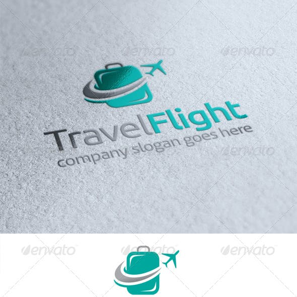 Travel Flight Logo