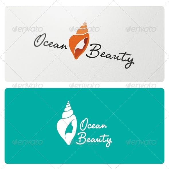 Ocean Beauty Logo Template