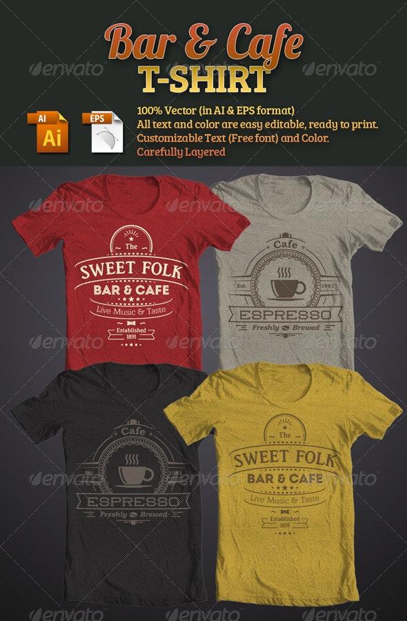 Bar & Cafe T-Shirt - Business T-Shirts