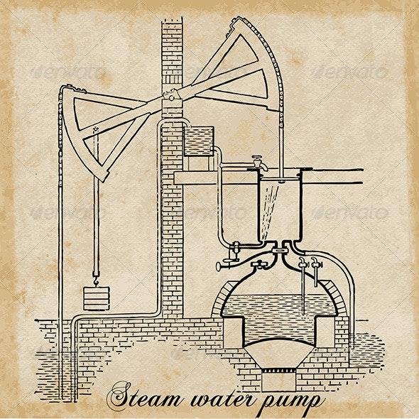 Steam Water Pump