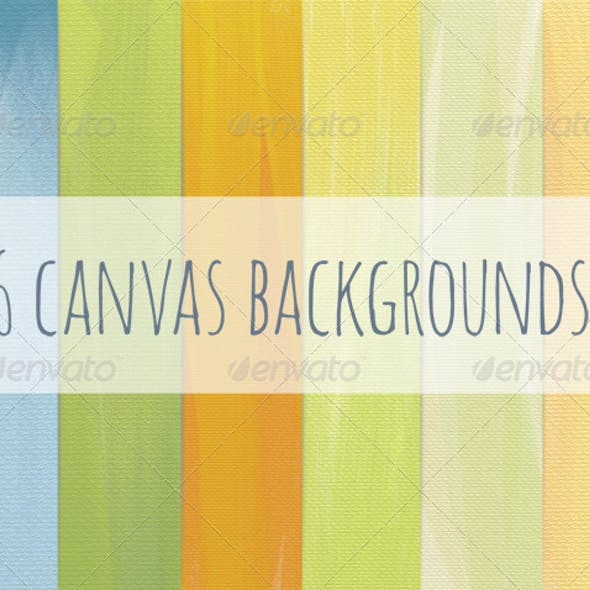 6 Canvas Backgrounds