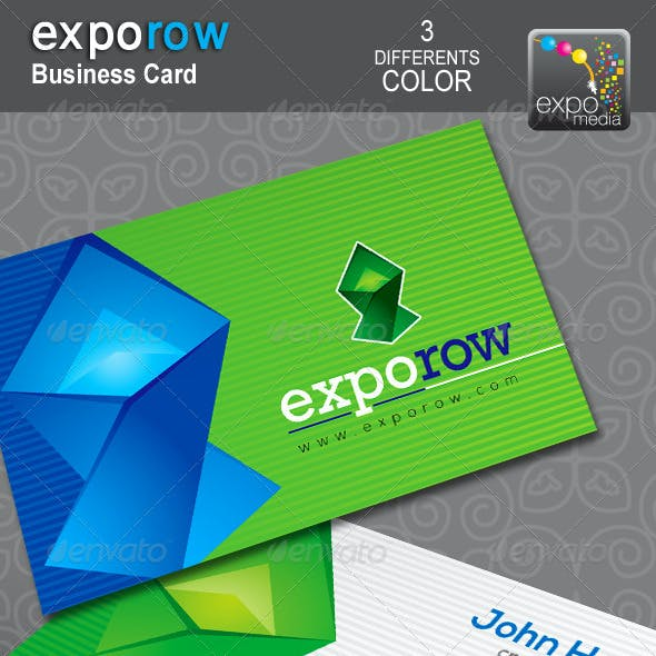 ExpoRow_Corporate Business Card