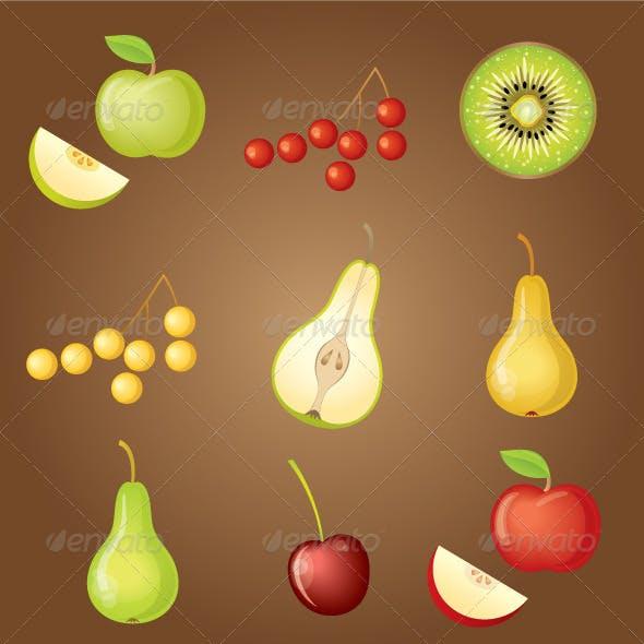 Download Set of Fruit