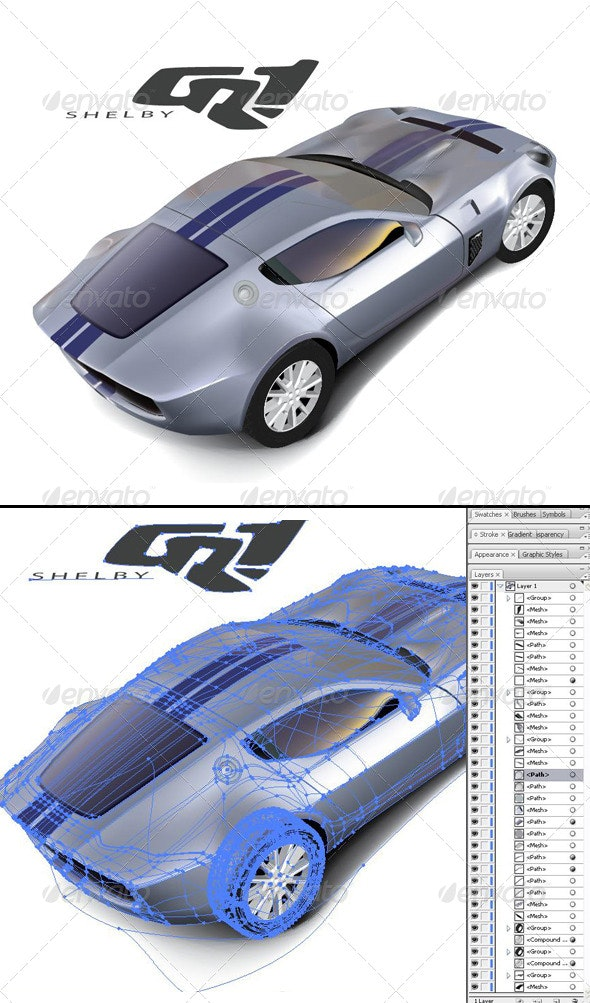 Ford Shelby Vector