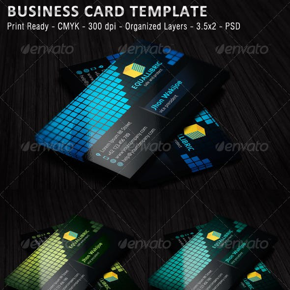 Equallibric Business Card