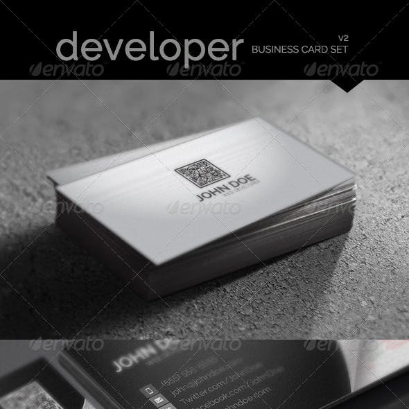 Web Developer - Business Card